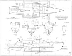 Cruising Plywood Trimaran Design max 24/26ft
