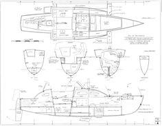 Cruising Plywood Trimaran Design max 24/26ft [Archive] - The ...