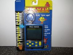 Rare 1997 MGA Pacman Hand Held Electronic Game Keychain 231073 #MGA