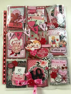 Pocket Project Life, Pocket Pal, Pocket Cards, Vintage Valentines, Be My Valentine, Scrapbook Paper Crafts, Scrapbook Pages, Atc Cards, Pocket Scrapbooking