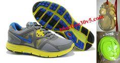 Womens Nike Lunarglide 3 Gray Yellow Blue Shoes Nike Free Run 3 - All Nike Shoes, Discount Nike Shoes, Nike Shoes Cheap, Nike Shoes Outlet, Hot Shoes, Women's Shoes, Yellow Sneakers, Yellow Nikes, Gray Yellow