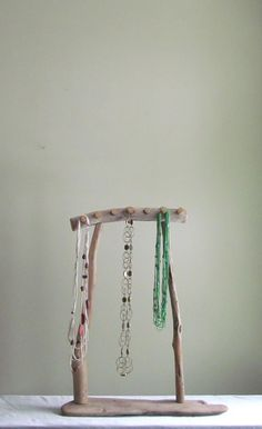 Driftwood Necklace Display, Driftwood Jewelry Stand -- Able to be taken apart for transport and storage by DriftingConcepts