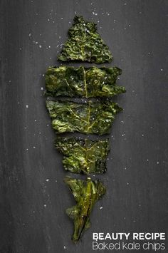 Beauty super food: Baked kale chips (and how to make them at home)