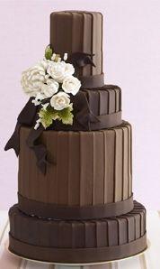 Chocolate Wedding Cake OMG!
