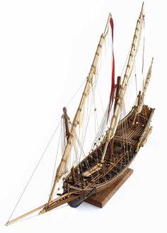 Amati's 1/60 scale Xebec armed vessel 1753.