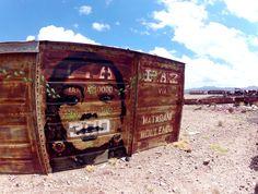 Stinkfish in Bolivia - StreetArt101
