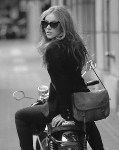 #motorcycle chic...