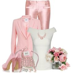 Soft Pink, created by wendyfer on Polyvore