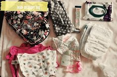 What's In My Diaper Bag (Newborn version) « Spearmint Baby