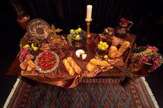 Lavish communion table for Prodigal God series.