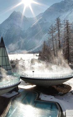 Un baño en las montañas de Austria: Hotel Aqua Dome.  http://escapadafindesemana.org/