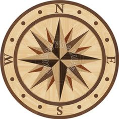 Sailors Sky Maple wood floor inlay $499.00