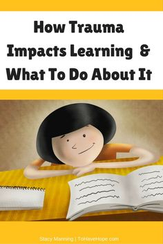 Tools & techniques to help the impacts that trauma has on learning. Great resource for parents of adopted, foster, ADHD, ADD, and special needs children.