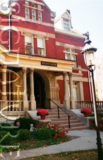 The Propylaeum is a beautiful Victorian Club House, built in 1890 by a local business man. The well-maintained facility has five meeting rooms, seven private overnight guest rooms, a third floor ball room, and a professionally licensed kitchen. It is located in the Old North Side Neighborhood. Every effort has been taken to preserve the original integrity with historically correct restoration and decoration while incorporating modern day amenities to enhance the comfort of our members and…