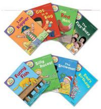 Oxford Reading Tree Read with Biff, Chip, and Kipper Level 2 Pack of 8 By…