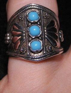 Hey, I found this really awesome Etsy listing at https://www.etsy.com/listing/218238276/vintage-sterling-silver-925-turquoise