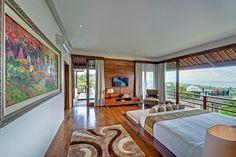 location de luxe à Bali avec des chambres très spacieuses et lumineuses #BaliHomes #bedroomIdeas #villaBali