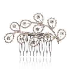 Topwedding Leaf Shape Bridal Hair Flowers Wedding Comb Clips >>> To view further for this item, visit the image link.