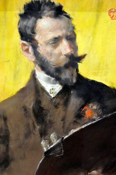 William Merritt Chase - Self Portrait at Boston Museum of Fine Arts William Merritt Chase - Self Portrait, 1884
