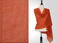 Ravelry: Zac Rectangular Shawl pattern by Steve Rousseau. Beautiful!