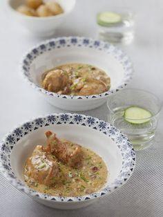 Blanquette au lait de coco - Recette de cuisine Marmiton : une recette