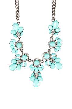 t+j Designs Candy Color Bib Necklace
