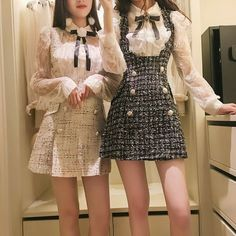 Korean Fashion – How to Dress up Korean Style – Fashion Design Tips Korean Fashion Dress, Korean Fashion Summer, Ulzzang Fashion, Kpop Fashion, Kawaii Fashion, Cute Fashion, Asian Fashion, Fashion Dresses, Fashion Trends