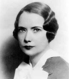 Margaret Mitchell (Author from Gone with the wind)...because I am in love with the book and movie.