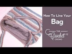 How to Line Your Crochet or Knit Bag A crochet or knit bag is lovely but sometimes we love to Crochet Handbags, Crochet Purses, Crochet Purse Patterns, Knitting Patterns, Bag Patterns, Knit Bag, Knitted Bags, Crotchet Bags, How To Line A Bag