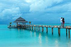 Prepara tu luna de miel, en uno de los mejores lugares para disfrutar en pareja.  #IslasMaldivas #SweetHoneyMoon