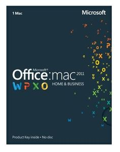 Amazon.com: Office Mac 2011 Home and Business 2011 - 1 Mac/1 User [Download]: Software