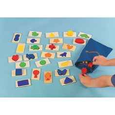 51 Pc. Use Your Senses! Mix & Match Game - OrientalTrading.com