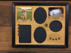 Are you looking for a custom gift? Check this out! legacyimages on Etsy: 11x14 Personalized Dog Prints & Bowl Picture Frame - puppy dog lover (36.95 USD) #EtsyGifts #Handmade #PictureFrames