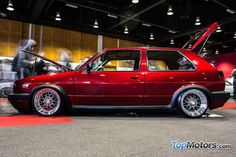 Volkswagen Golf MK2 bbs