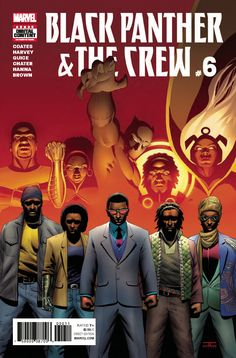 Description Black Panther and the Crew finally crack the case surrounding the mysterious death of Harlem community pillar Ezra Keith! In the wake of Ezra's life one thing is certain: the world needs the Crew now more than ever! Rated T+ Item 1649233 Black Anime Characters, Comic Book Characters, Comic Book Heroes, Comic Books Art, Comic Art, Book Art, Superhero Characters, Black Panther Storm, Black Panther Art