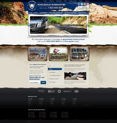 Web Design: Wholesale Warranties by VictoryDesign on DeviantArt Web Design Trends, Design Web, Art Web, Free Quotes, User Interface, Online Art Gallery, Lorem Ipsum, Browsing Deviantart, Web Design