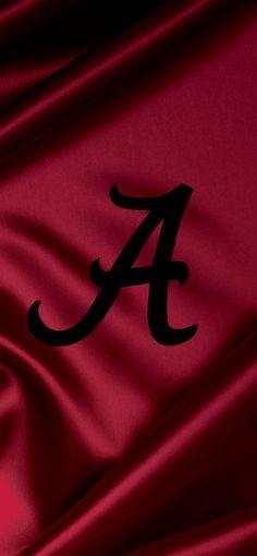 Alabama Crimson Tide Football logo iPhone wallpaper