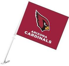 Arizona Cardinals Flag Car Style