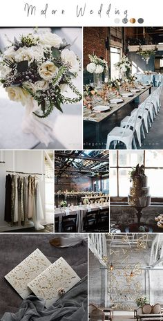 moody shades of metallic modern industrial wedding ideas modern wedding Wedding Trends Chic Industrial Style Wedding Ideas Luxury Wedding, Diy Wedding, Destination Wedding, Wedding Ideas, Wedding Planner, Budget Wedding, Spring Wedding, Perfect Wedding, Wedding Ceremony