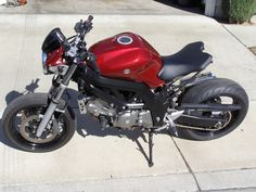 Well I just bought an 07 SV 650 for 2500 bucks yesterday. Cafe Bike, Cafe Racer Bikes, Cafe Racers, Custom Motorcycles, Custom Bikes, Buell Cafe Racer, Suzuki Sv 650, Honda Cb 500, Suzuki Motorcycle
