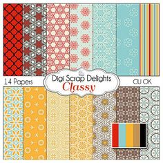 Classy Scrapbook Paper for scrapbooking card by DigiScrapDelights,
