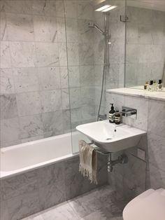 Så var äntligen badrummet klart.