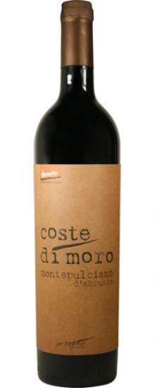 NEW WINE: Coste di Moro *Biodynamic* Montepulciano d'Abruzzo 2010 | Opaque black-ruby, with massive, sweet-fruited aromas and an unctuous, dense palate loaded with extreme flavours of blackberry, Tiramisu, molasses and crème de cacao. (Despite all this apparent sweetness, the wine is dry!) A polished, astonishing red that will stop you in your tracks. Savour on its own or pair with rich foods like meaty lamb ragu or filet mignon with a balsamic reduction.
