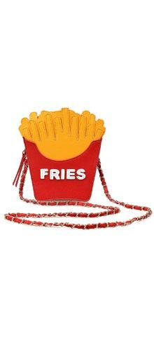 Red & Yellow French Fry Crossbody Bag