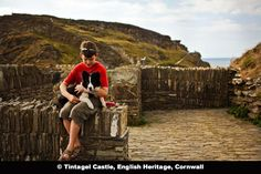 Tintagel Castle, English Heritage, Cornwall, UK
