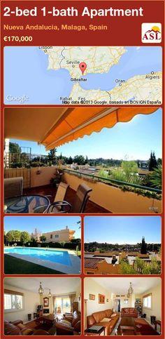 2-bed 1-bath Apartment in Nueva Andalucia, Malaga, Spain ►€170,000 #PropertyForSaleInSpain