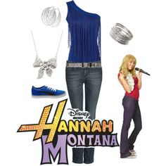"""Hannah Montana"" by saeabryony on Polyvore"