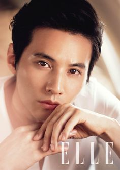 Won Bin - Elle Magazine June Issue '14  Darnit dude, when are you actually going to ACT again... :/