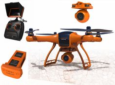 US Warehouse | Wingsland Scarlet Minivet 5.8G FPV With HD Camera RC Quadcopter