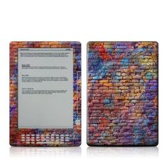 Painted Brick Design Protective Decal Skin Sticker for Amazon Kindle DX 9.7 inch E-Book Reader by MyGift. $19.99. This scratch resistant skin sticker helps to protect your Amazon Kindle DX E-Book Reader while making an impression. Self-adhesive plastic-coated skins cover the front and back of the Kindle DX and are custom cut to perfectly fit the Amazon Kindle DX E-Book Reader. Skins are paper-thin so they do not add any bulk. Skins are easy to apply (no bubbles), durable and ...